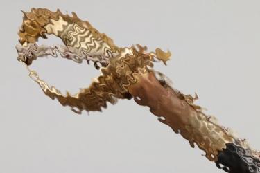 Admiral v. Krosigk - Naval sabre with damascus blade