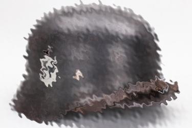 Waffen-SS M35 double decal helmet - Q66