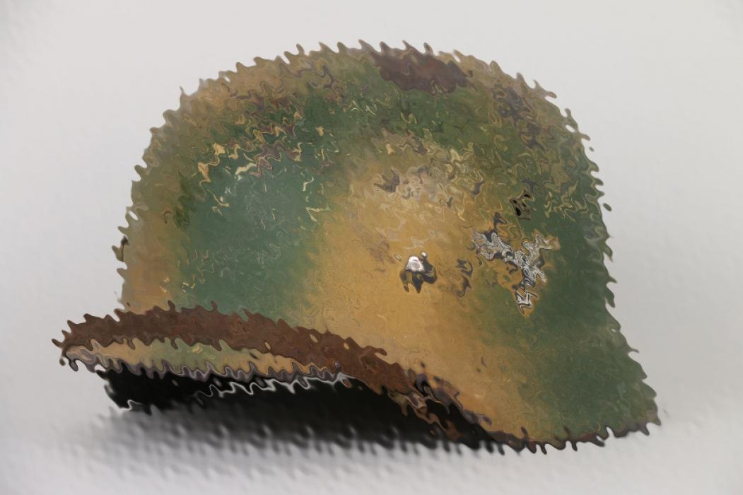 Luftwaffe single decal camo helmet - SE64