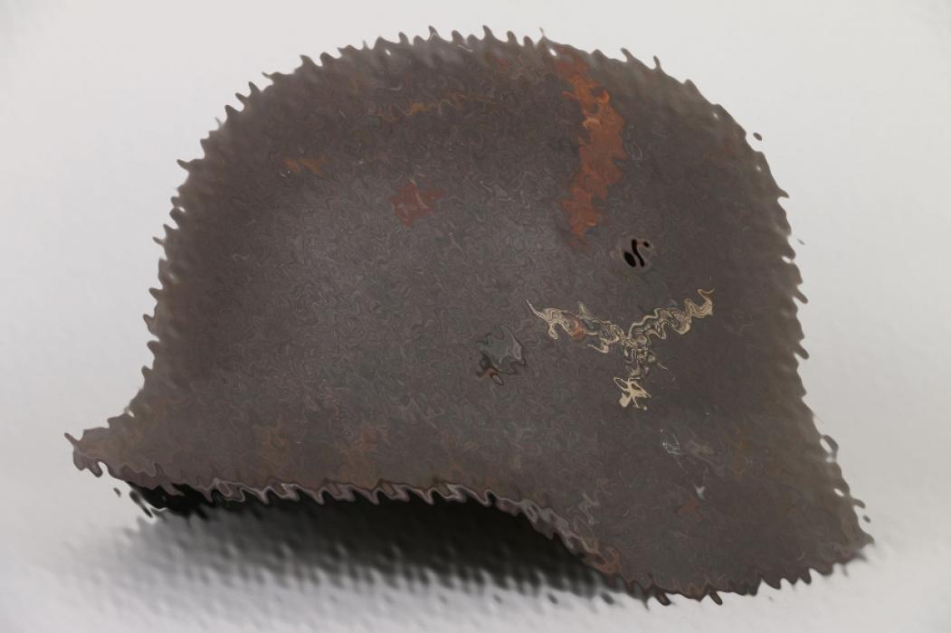 Luftwaffe M40 single decal helmet - Q62