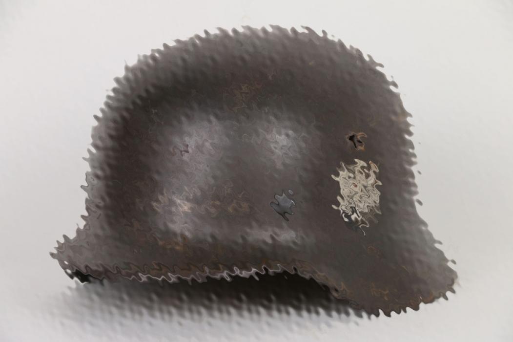Heer M40 single decal helmet - EF62