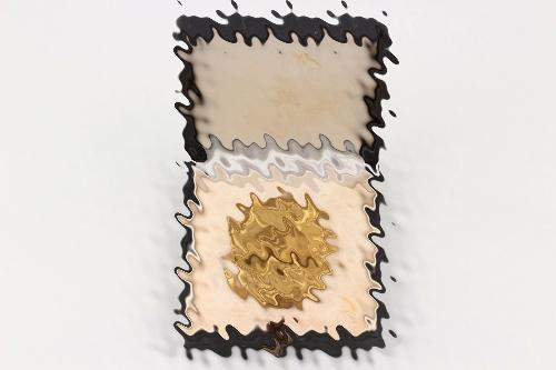 Wound Badge in gold in HAUPTMÜNZAMT case