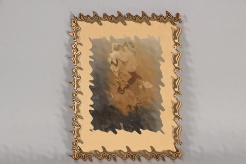 Framed portrait KRADSCHÜTZE EK1 recipient
