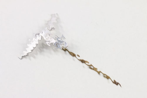Luftwaffe lapel pin in silver
