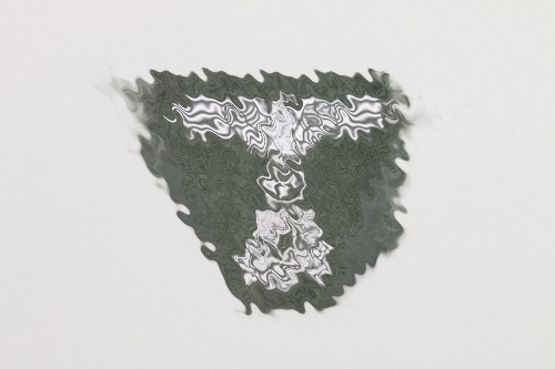 Waffen-SS triangle badge (green) for field cap