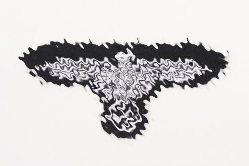 Waffen-SS EM/NCO sleeve eagle