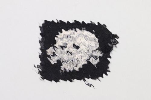 Waffen-SS Totenkopf collar tab (cut)