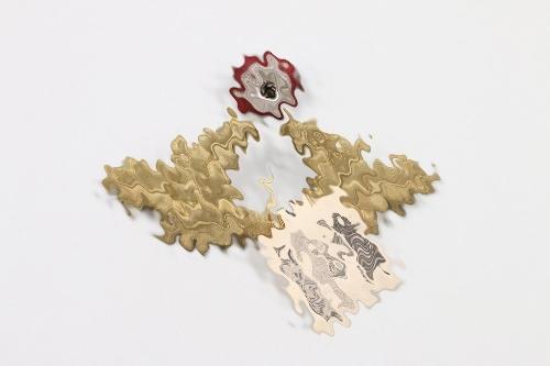 NSDAP political leader's wreath cap badge