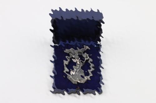 Luftwaffe Flak Badge (Assmann) in case