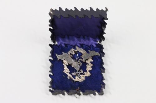 Luftwaffe Pilot's Badge (Juncker, flat) in case