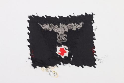 Heer Panzer cap eagles - EM/NCO