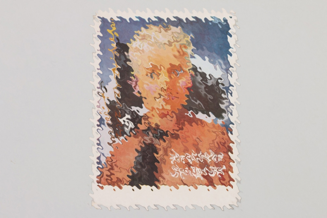 Deutsches Jungvolk color propaganda postcard