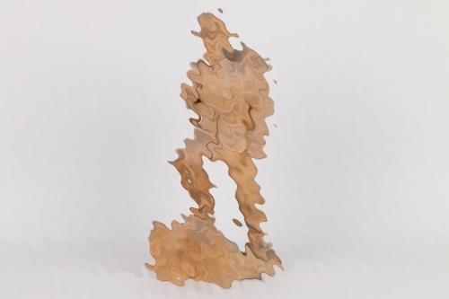 Wehrmacht carved Gebirgsjäger figure - 2