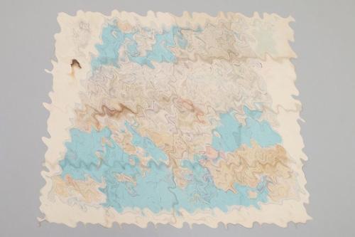 Luftwaffe 1942 rubberized map of Europe