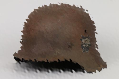 Police M42 double decal helmet - EF60