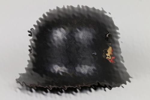 M16 unknown single decal helmet - ET68