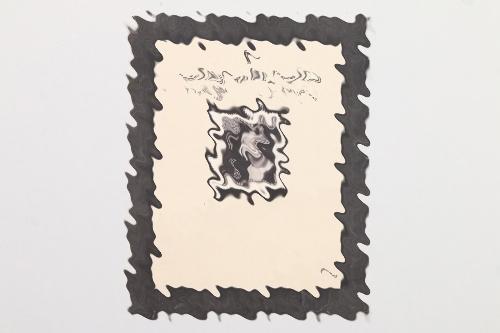 Third Reich stamp REINHARD HEYDRICH
