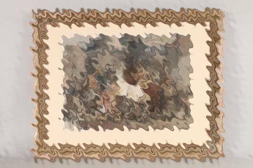 """Painting by Adolf Dahle - exhibitor at """"Deutsche Künstler und die SS"""""""