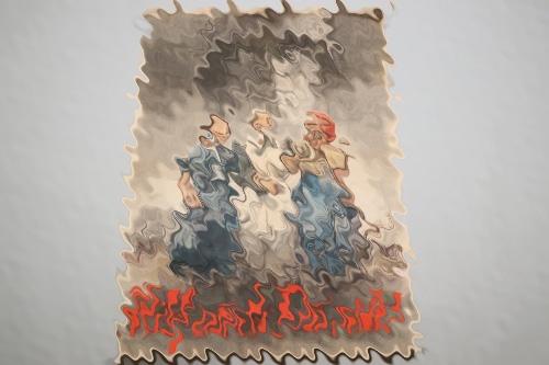 """Third Reich propaganda poster """"Hilf auch du mit!"""""""
