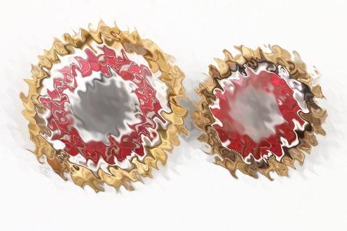 NSDAP Golden Party Badges - number matching