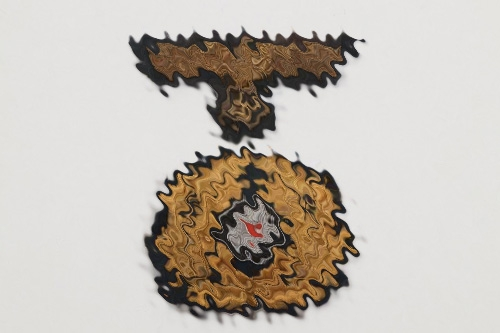 Kriegsmarine officer's visor cap insignia