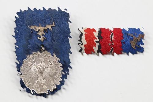 Luftwaffe 4 years Long Service Award grouping