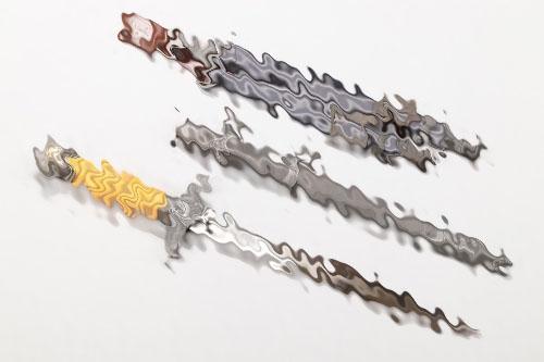 Luftwaffe officer's dagger (Weyersberg) with hangers