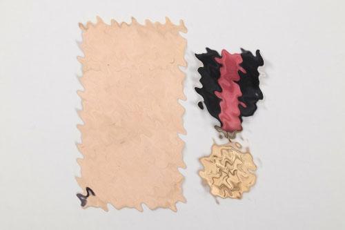 Sudetenland Medal in Schmidhäußler bag