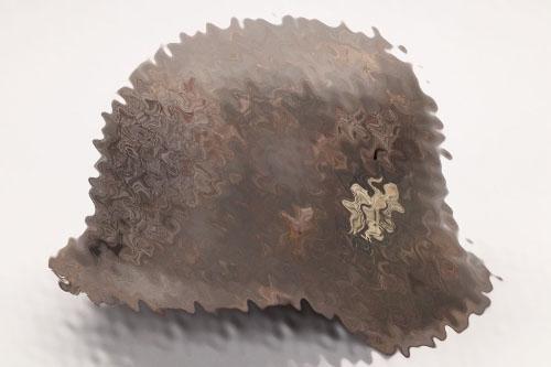 Heer M42 single decal helmet - ET62