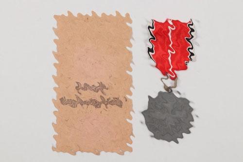 Medal of the German Eagle Order in Hauptmünzamt bag
