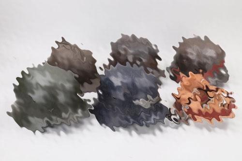 WWII lot of 5 helmets