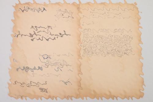 Reinhard Heydrich signed GESTAPO document