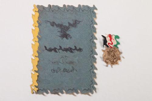 Afrikakorps Luftwaffe Soldbuch + Medal