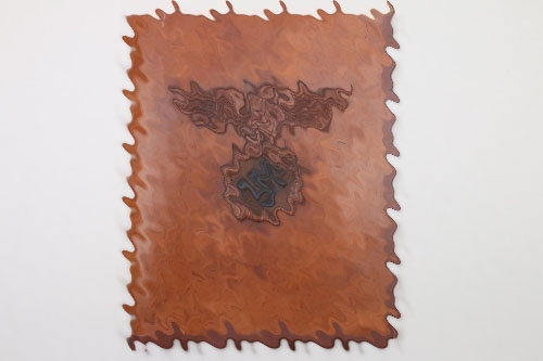 Impressive Third Reich leather presentation folder