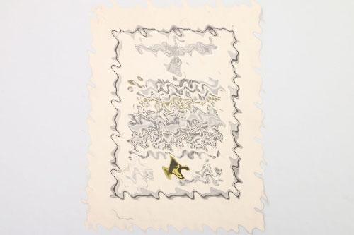 1944 certificate to Nachrichtenhelferin G. Burmeister