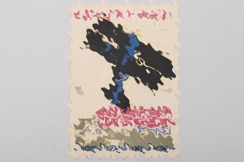 """Third Reich """"Bayerischer Luftverein"""" postcard"""