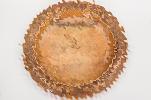 Third Reich runic wooden plate