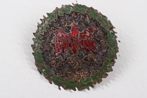 1943 Tirol shooting badge in gold - Kombinationsschießen