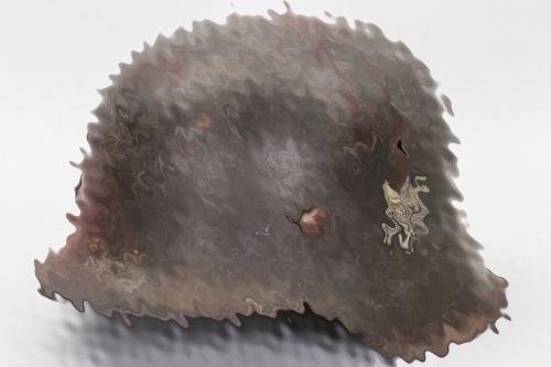 Heer M42 single decal helmet - ET64