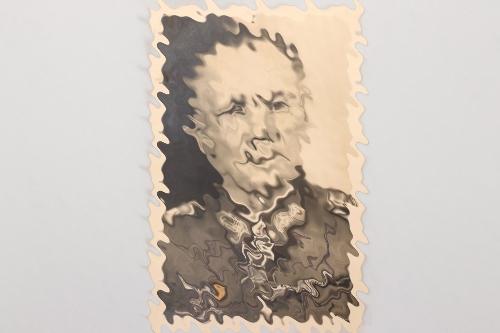 Rommel, Erwin signed postcard