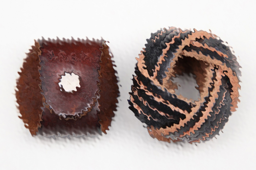 2 + leather woggles