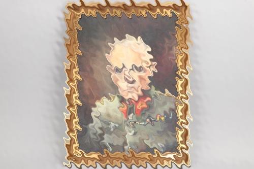 Generaloberst Ludwig Beck framed oil