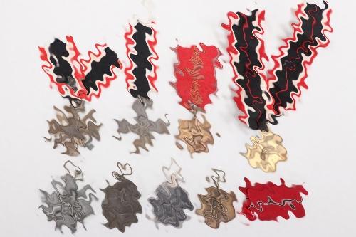 8 + Third Reich medals