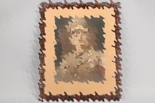 Blood Order recipient framed potrait photo