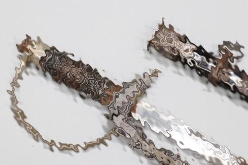 SS/Police officer candidate sword with knot - Lüneschloss