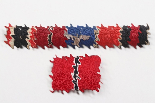 2 + Third Reich ribbon bars