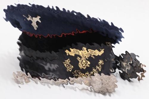 Third Reich Reichsbahn visor cap grouping