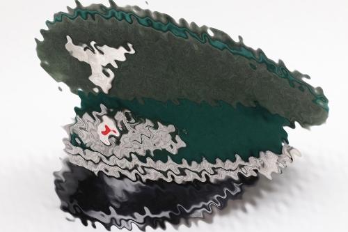 Third Reich forestry visor cap to F. Krackowizer