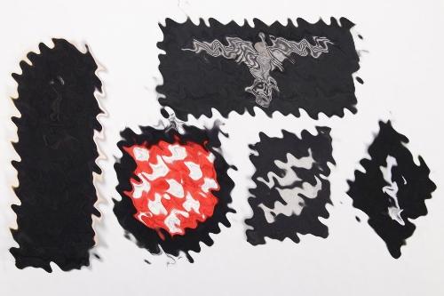 5 + Waffen-SS insignia