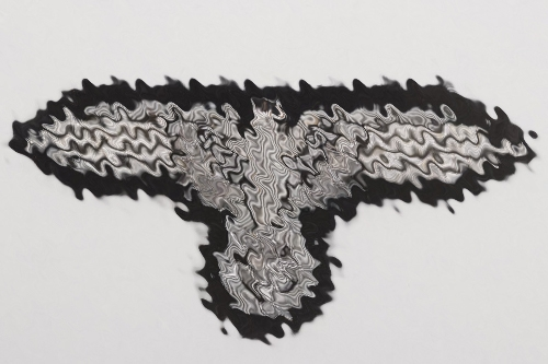 Waffen-SS officer's sleeve eagle
